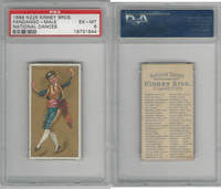 N225 Kinney, National Dances, 1889, Fandango Male, Spain, PSA 6 EXMT