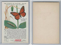 F213-3 Coca Cola, Nature Study, Insects, 1920's, #6 Monarch Butterfly