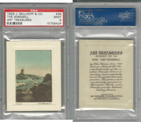 M108-12 J. Millhoff & Co., Art Treasures, 1926, #39 The Windmill, PSA 9 Mint