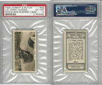 L8-98 Lambert, Who's Who In Sports, 1926, #19 JG Thomas, Racing, PSA 6 EXMT