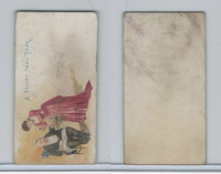 N227 Kinney, New Years Cards, 1890, A Happy New Year (A)