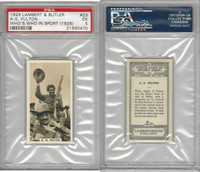 L8-98 Lambert, Who's Who In Sports, 1926, #23 AG Fulton, Shooting, PSA 5 EX
