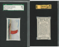 S26-16 Nicolas Sarony, Ships of all Ages, 1929, #20 Pulwar Bengal, SGC 84 NM