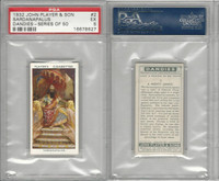 P72-87 John Player, Dandies, 1932, #2 Sardanapalus, PSA 5 EX