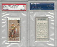 P72-87 John Player, Dandies, 1932, #7 15th Century Dandy, PSA 5 EX