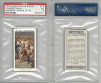 P72-87 John Player, Dandies, 1932, #13 Claude Duval, PSA 5 EX