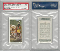P72-87 John Player, Dandies, 1932, #39 Persian Ambassador, PSA 5 EX