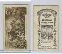 W62-146 Wills Cigarettes, Homeland Events, 1932, #3 Lord Mayors Show