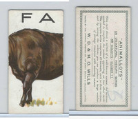 W62-110 W.D. & H.O. Wills, Animalloys, 1934, #11 Buffalo