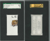 W62-110 W.D. & H.O. Wills, Animalloys, 1934, #19 Leopard, SGC 60 EX