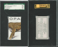 W62-110 W.D. & H.O. Wills, Animalloys, 1934, #20 Leopard, SGC 70 EX+