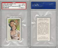 G12-96 Gallaher, Shots From Famous Films, 1935, #11 Blossom Time, PSA 8 NMMT