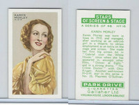 G12-100 Gallaher, Stars Of Screen & Stage, 1935, #16 Karen Morley