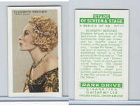 G12-100 Gallaher, Stars Of Screen & Stage, 1935, #17
