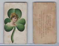 N228 Kinney, Novelties, 1890, Card Format, Clover-three leaf