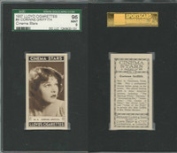 L56-12 Lloyd Cigarettes, Cinema Stars, 1937, #4 Corinne Griffith, SGC 96 Mint
