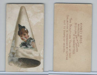N228 Kinney, Novelties, 1890, Card Format, Clown's cap