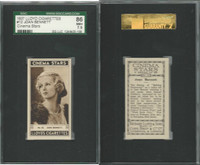 L56-12 Lloyd Cigarettes, Cinema Stars, 1937, #12 Joan Bennett, SGC 86 NM+