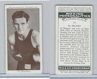 C82-34 Churchman, Boxing Personalities, 1938, #11 Al Delaney