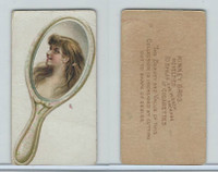 N228 Kinney, Novelties, 1890, Card Format, Hand Mirror
