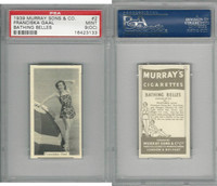 M164-42 Murray Sons, Bathing Belles, 1939, #2 Franciska Gaal, PSA 9 OC Mint