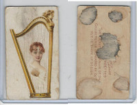 N228 Kinney, Novelties, 1890, Card Format, Harp-Irish