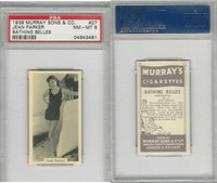 M164-42 Murray Sons, Bathing Belles, 1939, #27 Jean Parker, PSA 8 NMMT