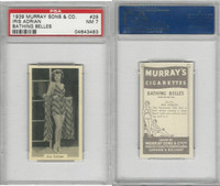 M164-42 Murray Sons, Bathing Belles, 1939, #29 Iris Adrian, PSA 7 NM