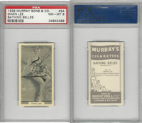 M164-42 Murray Sons, Bathing Belles, 1939, #34 Gwen Lee, PSA 8 NMMT