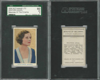 R56-1 Rothmans, Beauties Of The Cinema, 1939, Heather Angel, SGC 60 EX