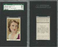 R56-1 Rothmans, Beauties Of The Cinema, 1939, Sydney Fox, SGC 86 NM+