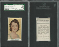 R56-1 Rothmans, Beauties Of The Cinema, 1939, Janet Gaynor, SGC 88 NMMT