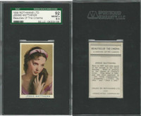 R56-1 Rothmans, Beauties Of The Cinema, 1939, Jessie Matthews, SGC 92 NMMT+