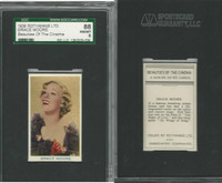 R56-1 Rothmans, Beauties Of The Cinema, 1939, Grace Moore, SGC 88 NMMT
