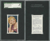 G12-90 Gallaher, My Favorite Part, 1939, #3 Lilli Palmer, SGC 88 NMMT