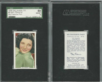 G12-90 Gallaher, My Favorite Part, 1939, #9 Kay Francis, SGC 88 NMMT