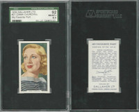 G12-90 Gallaher, My Favorite Part, 1939, #21 Diana Churchill, SGC 92 NMMT+