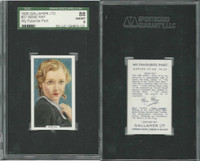 G12-90 Gallaher, My Favorite Part, 1939, #27 Rene Ray, SGC 88 NMMT