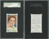 G12-90 Gallaher, My Favorite Part, 1939, #38 Yvonne Arnaud, SGC 88 NMMT