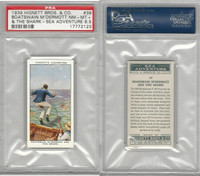 H44-56 Hignett Bros., Sea Adventure, 1939, #39 M'Dermot & Shark, PSA 8.5 NMMT+