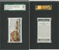 O2-272 Ogden, Sea Adventure, 1939, #16 Mutiny Of Bounty, SGC 96 Mint