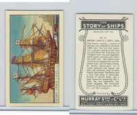 M164-52 Murray, Story of Ships, 1940, #11 Henry Grace A Dieu, 1514