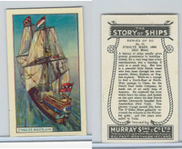 M164-52 Murray, Story of Ships, 1940, #17 O'Halve Maen, 1609