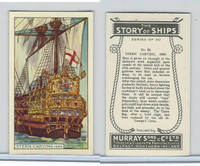 M164-52 Murray, Story of Ships, 1940, #23 Stern Carving, 1689