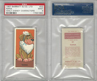 B0-0 Barratt, Walt Disney Characters, 1957, #23 Nana Dog, PSA 9 Mint