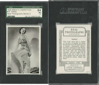 A72-59 Ardath, Real Photographs Ser. 2, 1939, #18 Diana, SGC 84 NM