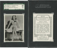 A72-59 Ardath, Real Photographs Ser. 2, 1939, #19 Rosella Towne, SGC 86 NM+