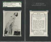A72-59 Ardath, Real Photographs Ser. 2, 1939, #25 Shirley Ross, SGC 84 NM