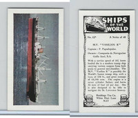"R0-0 Reddings Tea, Ships Of The World, 1963, #13 M.V. ""Vasilios R"""