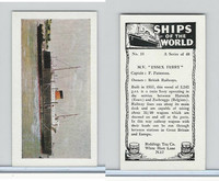 "R0-0 Reddings Tea, Ships Of The World, 1963, #18 M.V. ""Essex Ferry"""